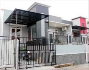 rumah dijual di cipulir 900 juta an modern 1 lantai
